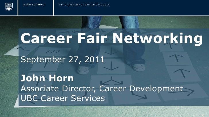 Career Fair Networking Slide 2