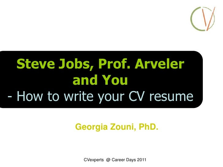 Steve Jobs, Prof. Arveleru003cbr /u003eand You U003cbr /u003e Yourexpectationsfor ...  Steve Jobs Resume