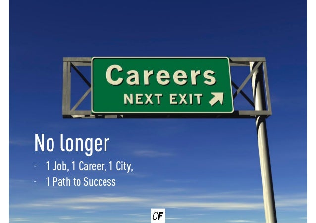 The broken career ladder - how to climb the ranks in the digital age Slide 3
