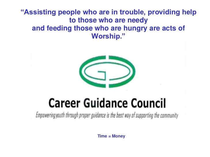 """""""Assisting people who are in trouble, providing help              to those who are needy   and feeding those who are hungr..."""