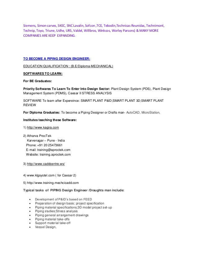 piping engineer instrument engineer jobs piping engineer jobs cover