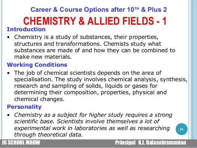 allied subjects college of chemistry rushmyessay