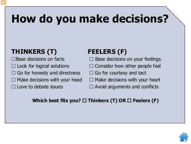 """How do you relate to your school and the outside world? JUDGERS (J) PERCEIVERS (P)  Like to make """"to do"""" lists  Like to ..."""
