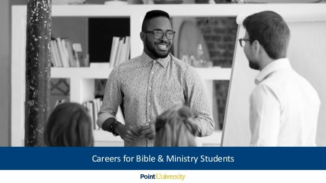 Careers for Bible & Ministry Students