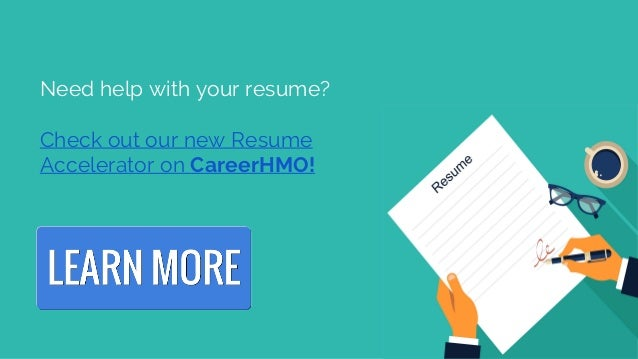 6. Need Help With Your Resume?
