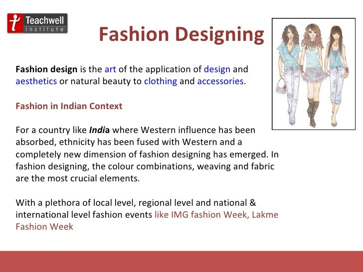 Fashion designing as a career in india 90