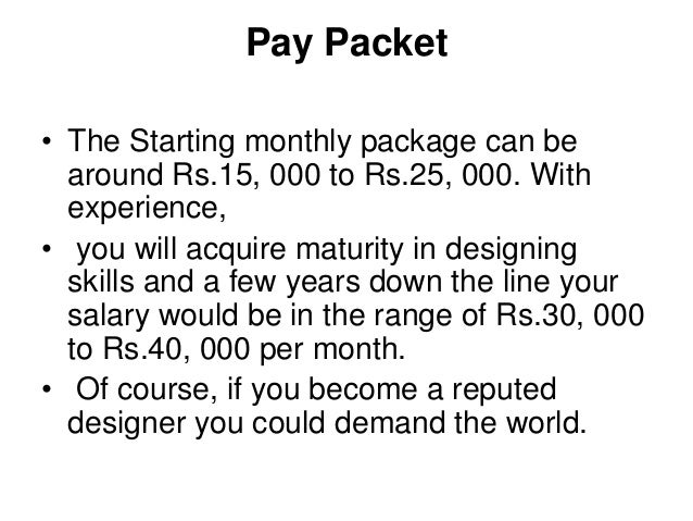 Fashion Designer Salary Per Month Fashion Slap
