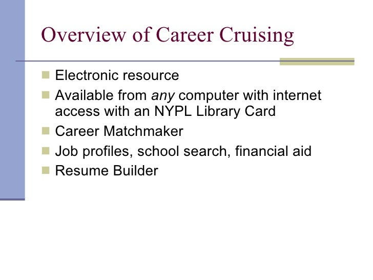 things opposites 19 overview of career cruising