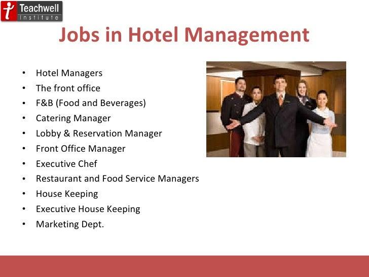 career in hotel management. Black Bedroom Furniture Sets. Home Design Ideas