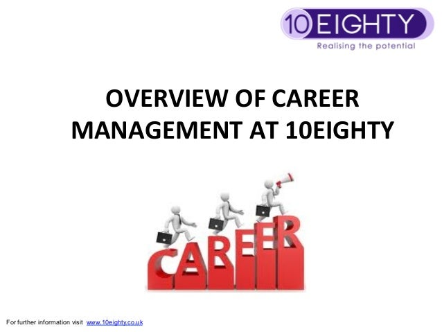 OVERVIEW OF CAREER                       MANAGEMENT AT 10EIGHTY                                   For furt...