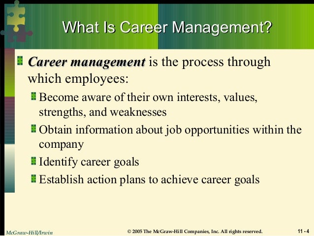steps in career managment Bluesteps recently hosted the #execcareer chat: adaptive career management, featuring jose ruiz, from alder koten some of the questions asked included.