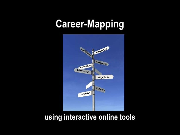 Career-Mapping     using interactive online tools