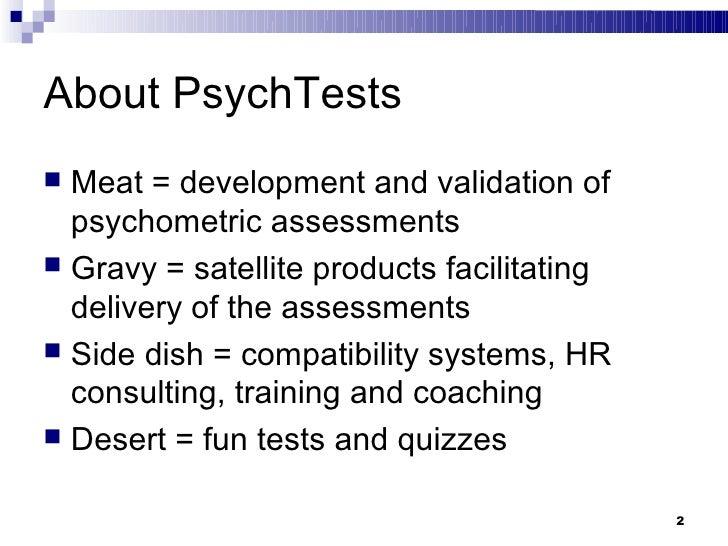 Career Motivation Test Slide 2