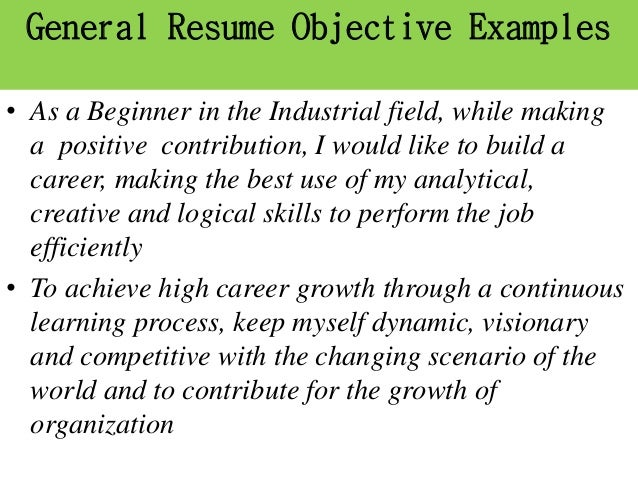 Career Objective Arise Roby