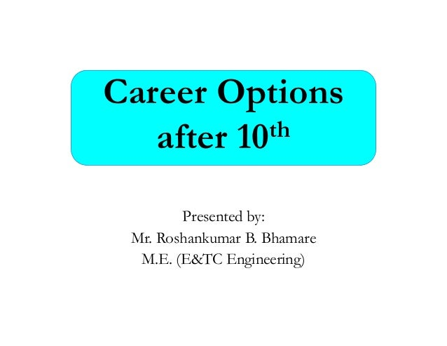 how to choose a career after 10th
