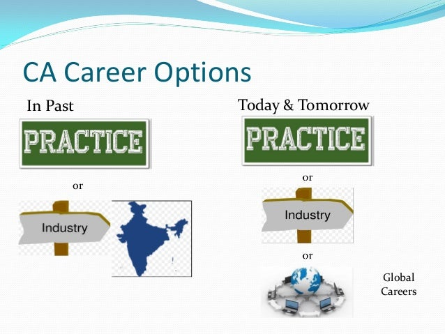 career path for chartered accountants If you are a cpa or ca, you can find employment in the government, industry,  major public accounting.