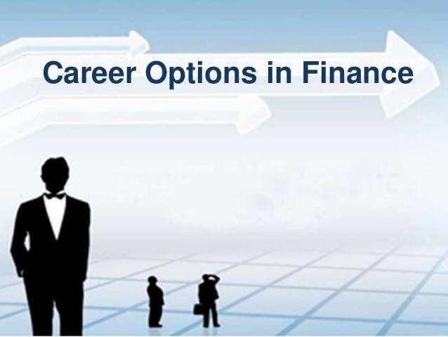 Career Options in Finance