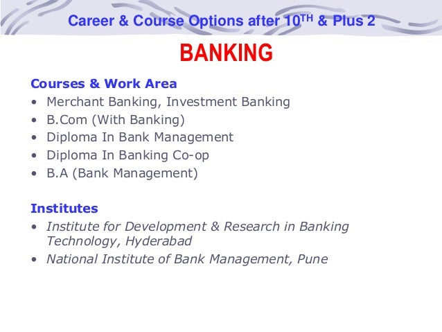 Careers options after investment banking