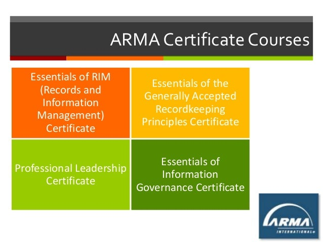 ria compliance manual template - career path for next generation records manager