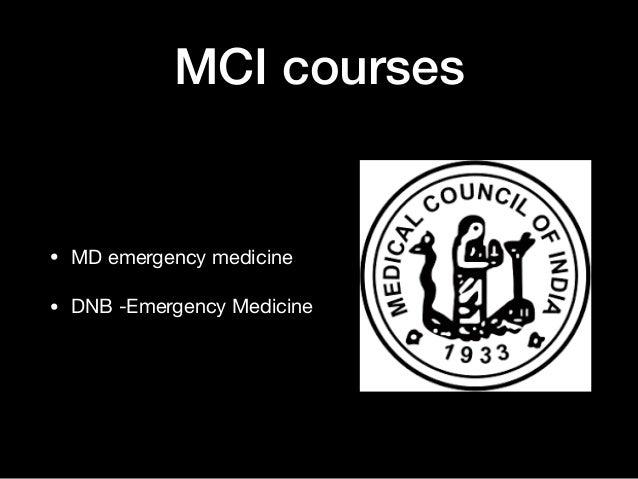 Career pathways in Emergency Medicine in India