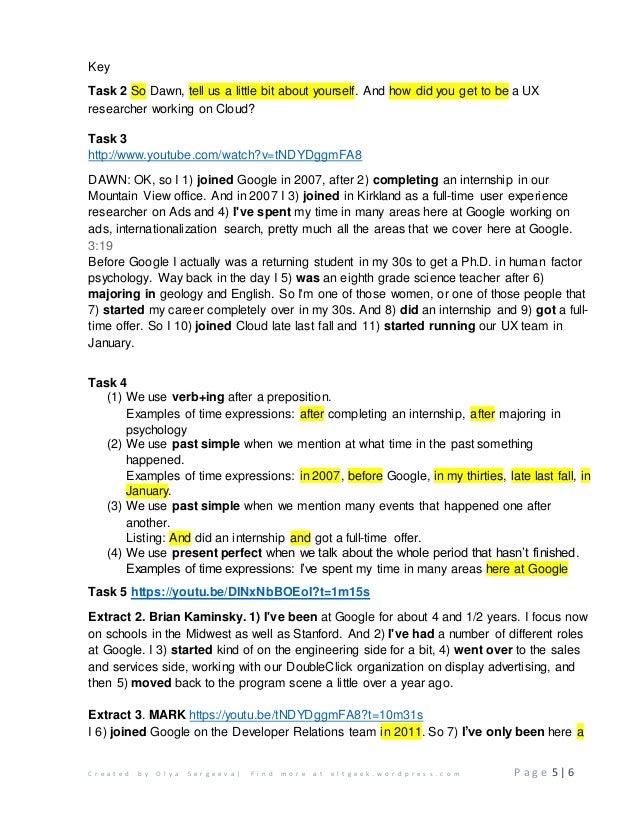 Career path worksheet