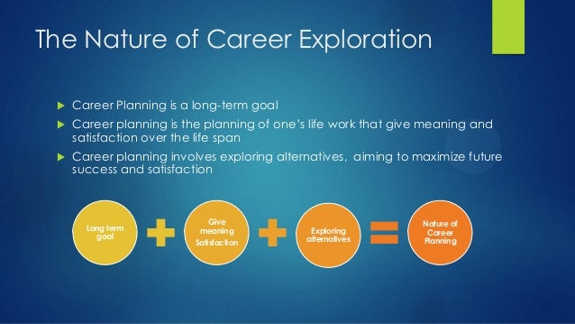 what is career exploration
