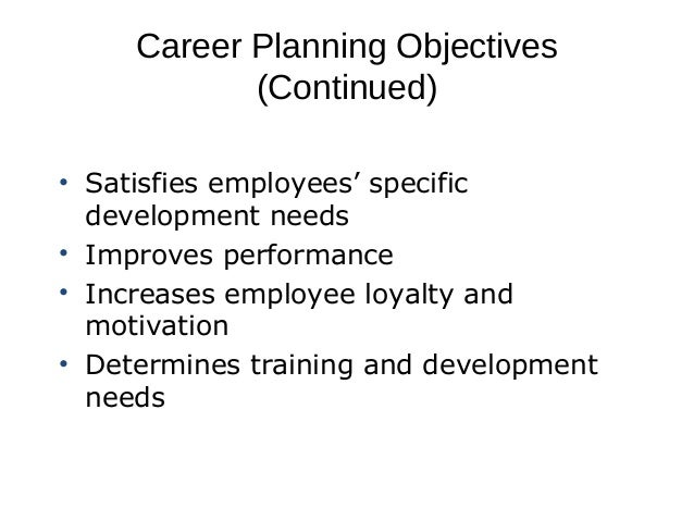 what is career planning and development