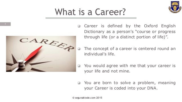 Career Planning for Graduates By Segun Akiode