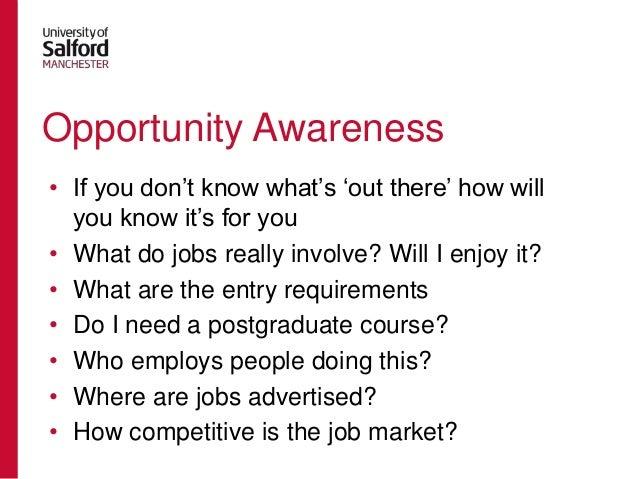 Career planning presentation for Undergraduate Psychology