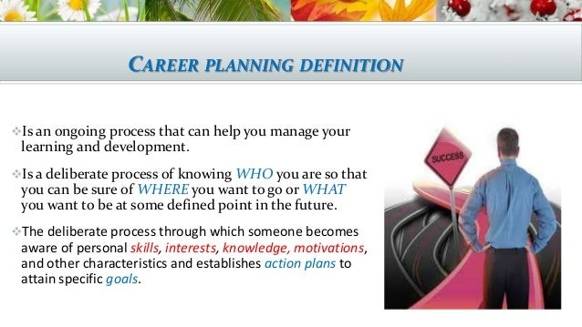 Career planning ppt Mona Alashry,Ahmed ,Marwa