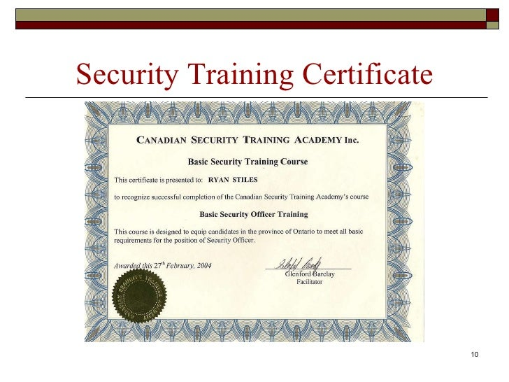 Career portfolio high school diploma 10 security training certificate yadclub Gallery