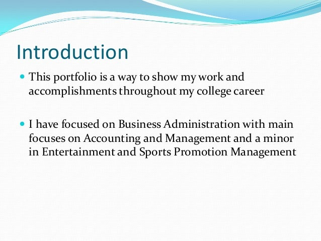 Career Portfolio Theiss