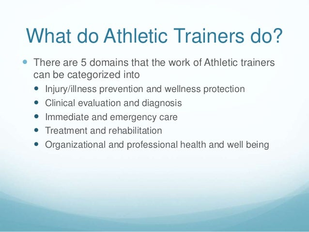 what is athletic training This is an excerpt from fundamentals of athletic training, third edition, by lorin a cartwright, ms, atc, and william a pitney, edd, atc, fnata professional development refers to the ongoing responsibility of improving one's skills and knowledge in order to deliver appropriate health care to.