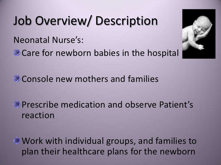 neonatal nurse by hannah siaurusaitis