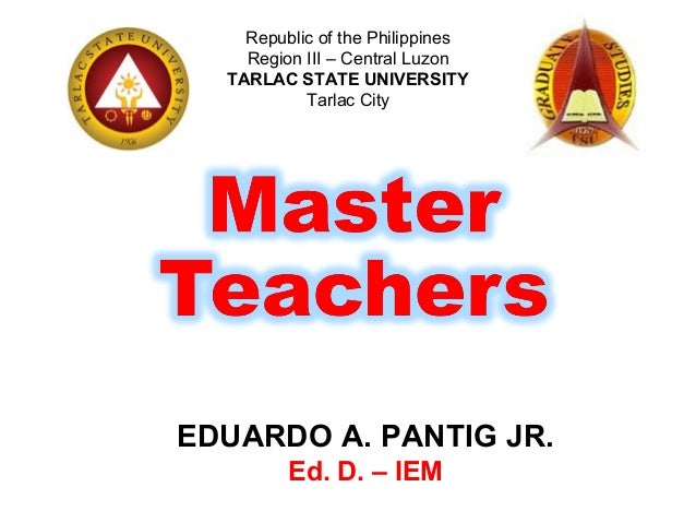 how to become a master teacher