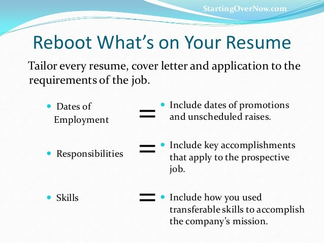 Career Reboot - Transferable Skills That Rock You To Results