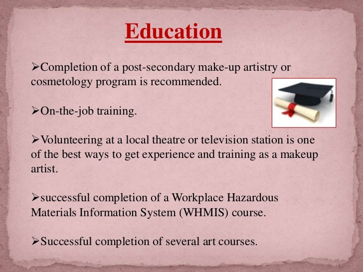 why cosmetology essay Free essay: history of cosmetology & nail care cosmetology is the study and application of beauty treatment branches of specialty including hairstyling.