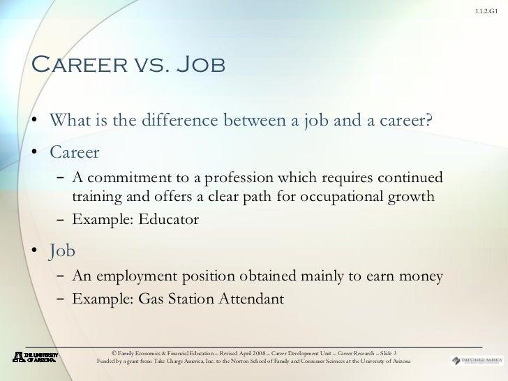 career vs job - Job Vs Career The Difference Between A Job And A Career
