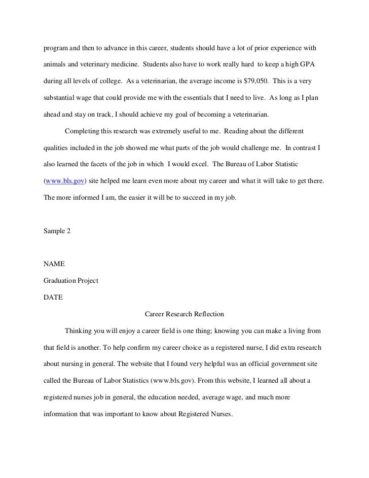 research paper on careers