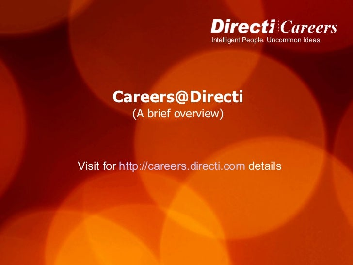 [email_address] (A brief overview) Visit for  http://careers.directi.com  details