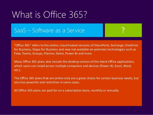 Careers in sharepoint office 365 azure power bi - Is sharepoint included in office 365 ...