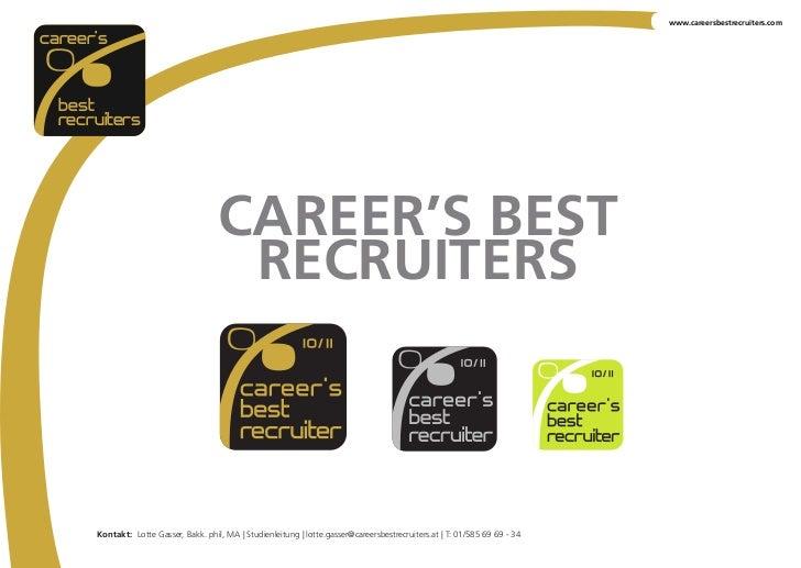 www.careersbestrecruiters.comcareer's  best  recruiters                                       CAREER'S BEST               ...