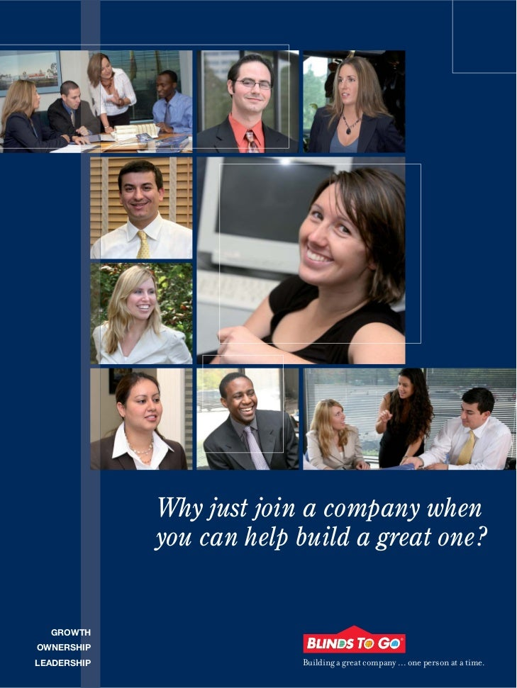 Why just join a company when             you can help build a great one?  GROWTHOWNERSHIPLEADERSHIP                Buildin...