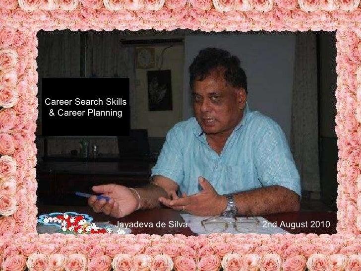 Career search skills & career planning