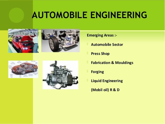 career as automobile engineer Title, job zone four: considerable preparation needed education, most of  these occupations require a four-year bachelor's degree,.