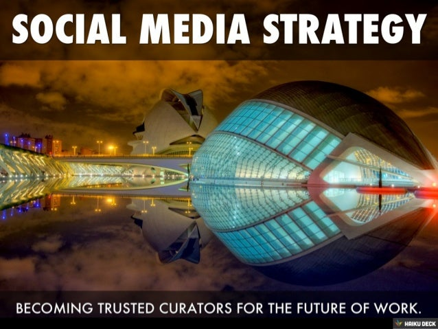 Career Service Social Media Strategy Overview 2013