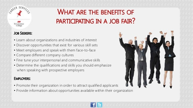 Job Fairs Are Your Golden Opportunity