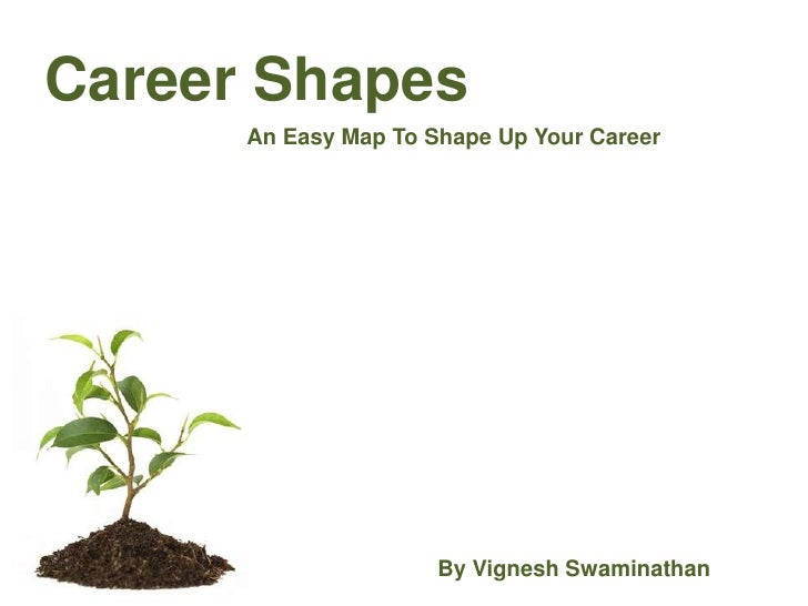 Career Shapes<br />An Easy Map To Shape Up Your Career<br />By Vignesh Swaminathan<br />