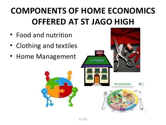 M. PITT; 5. COMPONENTS OF HOME ECONOMICS ...