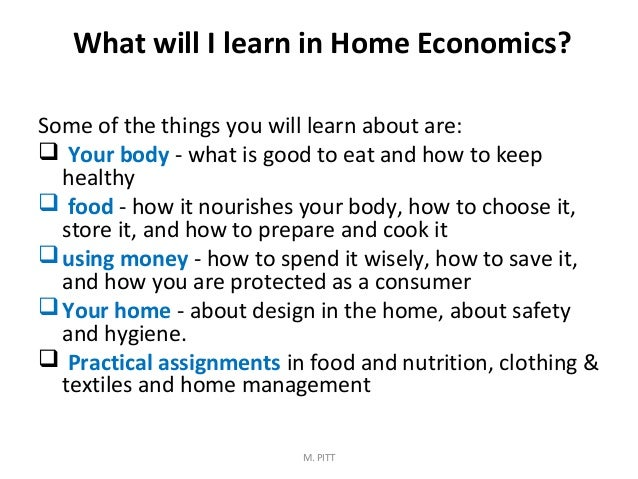 careers in home economics